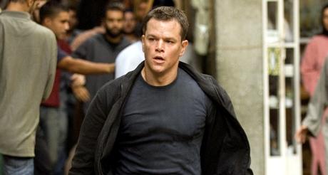 Matt Damon action in The Bourne Ultimatum