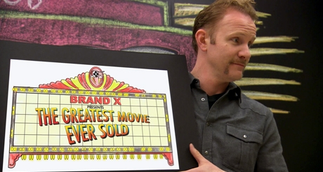 Morgan Spurlock in the Greatest Movie Ever Sold