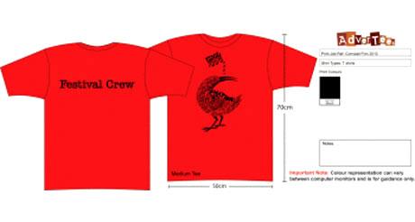 Cornwall Film Festival T-Shirts