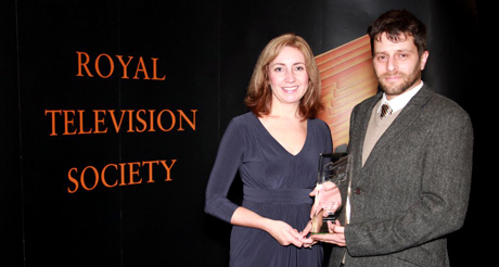 Plymouth College of Art student wins RTS award