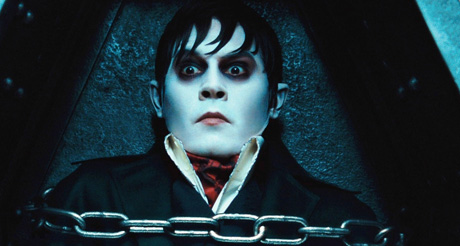 Johhny Depp in Tim Burton's Dark Shadows