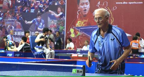 Les D'Arcy, in Hugh Hartford's Ping Pong