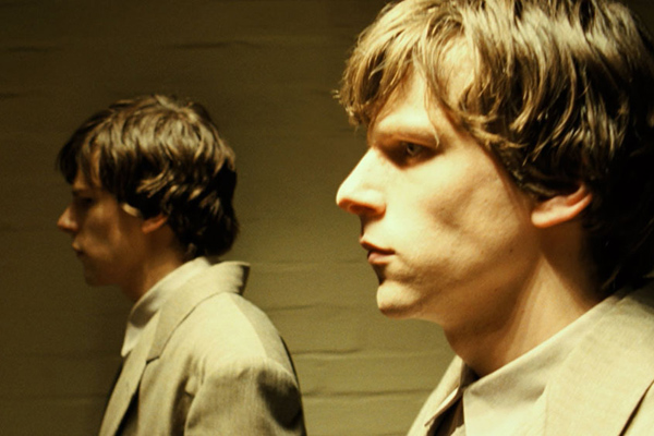 the double Jesse Eisenberg