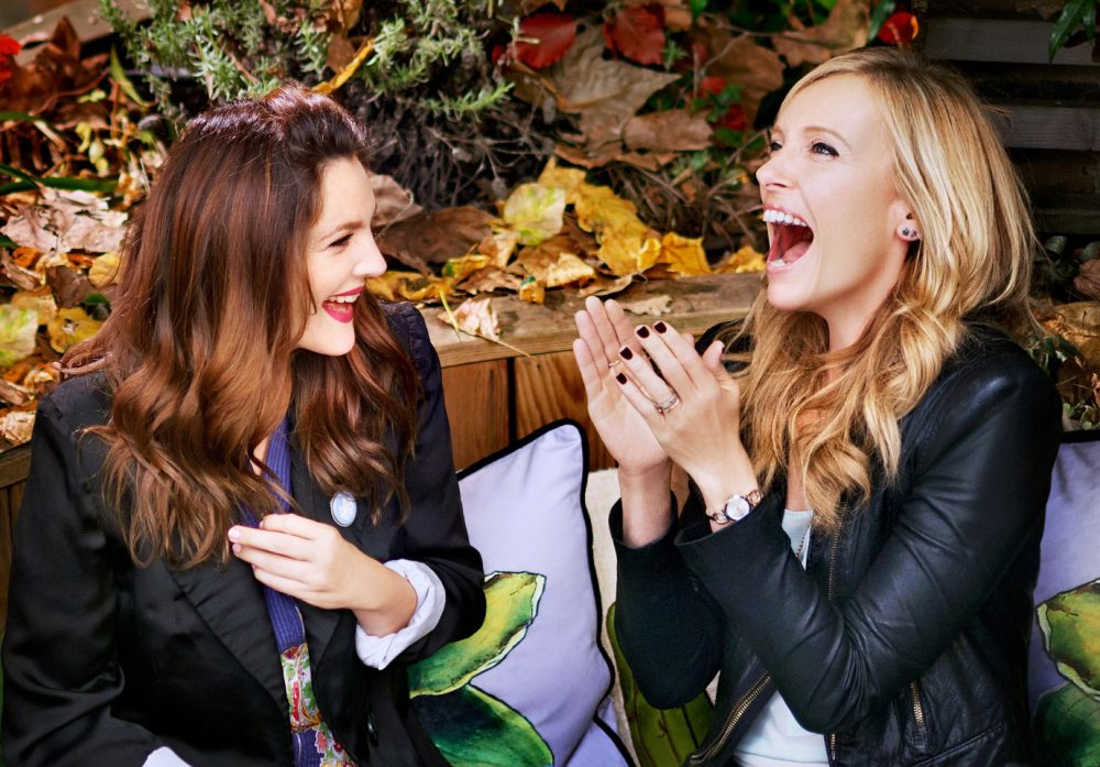 Miss You Already, first look image: Jess (Drew Barrymore) and Milly (Toni Collette)