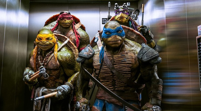 T-U-R-T-L-E flounder: Teenage Mutant Ninja Turtles leave their past behind in the new reinvention