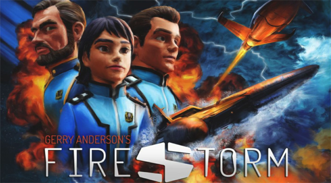Firestorm heroes (left to right) Drew McAllister, Nagisa Kisaragi and Sam Scott