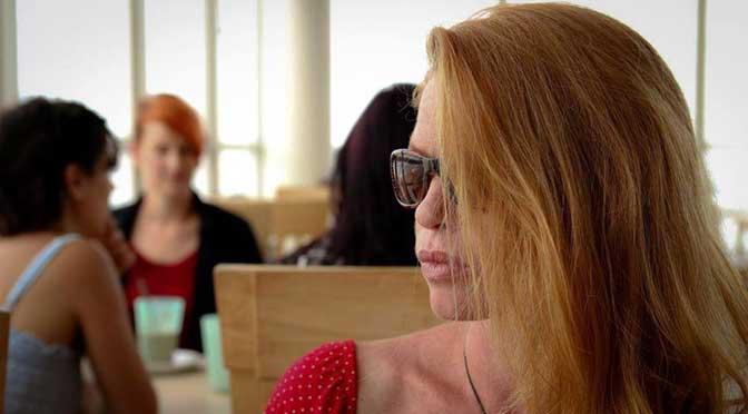 Karen Fairfax as Bridgette White in The Runner in post production