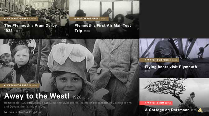 100s of unseen films about life the South West are revealed for the first time as Britain on Film launched on BFI Player