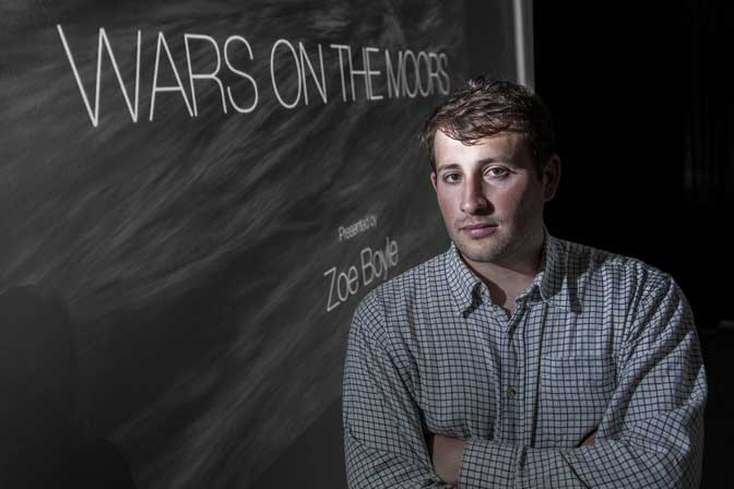 Student wins award for Wars on the Moors documentary