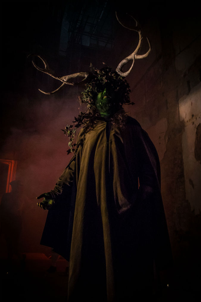 Hell's Bells: Philip Kingslan John - The Green Man