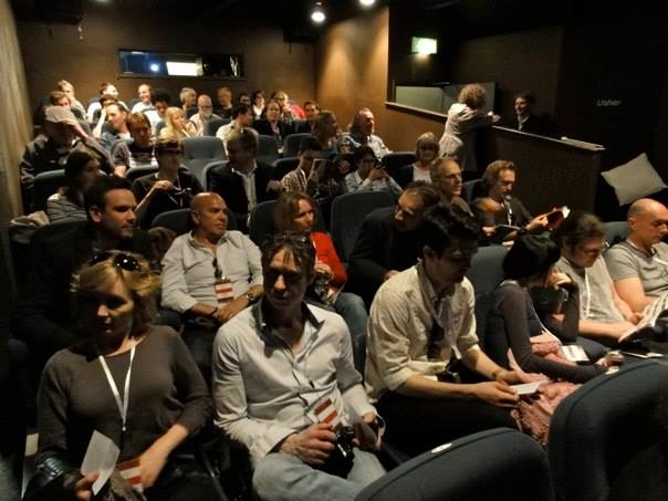 Plymouth Film Festival audience in action
