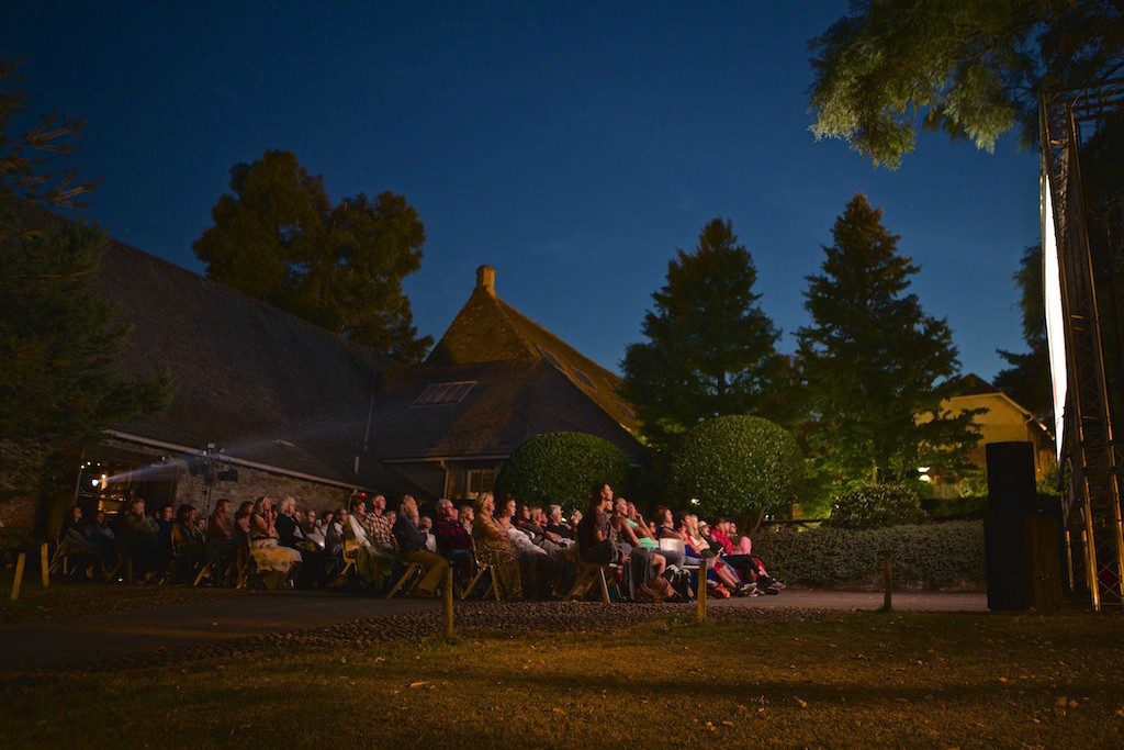 Bill Murray's outside: Get ready for a night out under the stars, watching the stars at Dartington