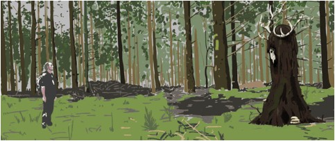 Image credit: Totem, Steve Wittingham, 2017 Animation Commission
