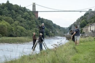 0436-Kiri filming in Bristol - image courtesy Nick Wall & Channel 4