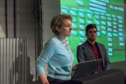 Fiona Francombe (Bottle Yard) & Elliot Lamb (Boomsatsuma) present the new Media Production Diploma launching at The Bottle Yard from Sept 18