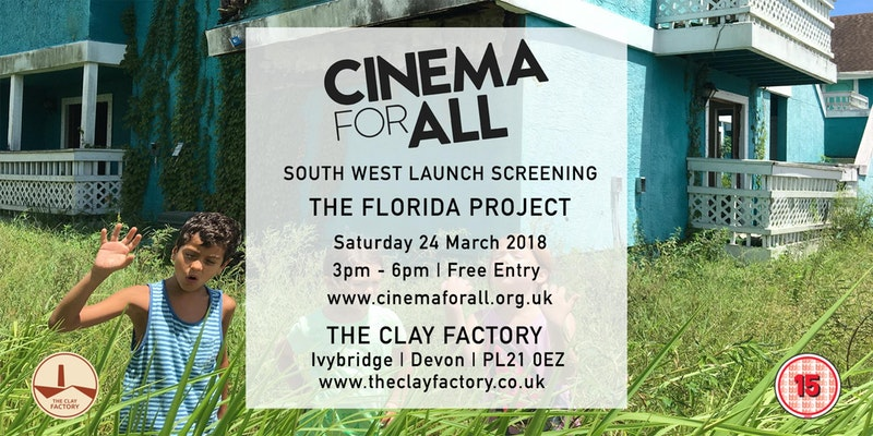 The Clay Factory celebrates Cinema For All equipment launch with free screening of The Florida Project