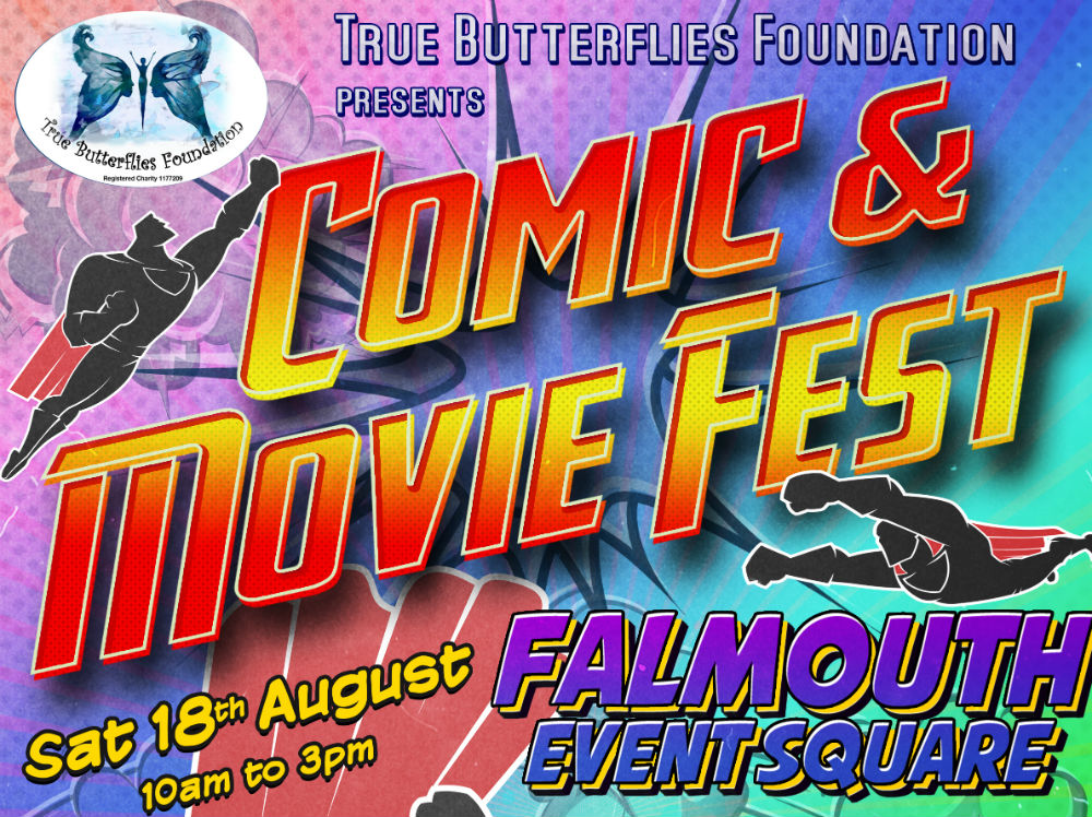 New Comic and Movie Fest in Falmouth set to empower survivors of domestic abuse