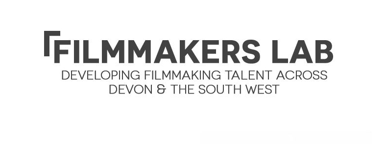 Filmmakers Lab logo - the words Filmmakers Lab with a subheading