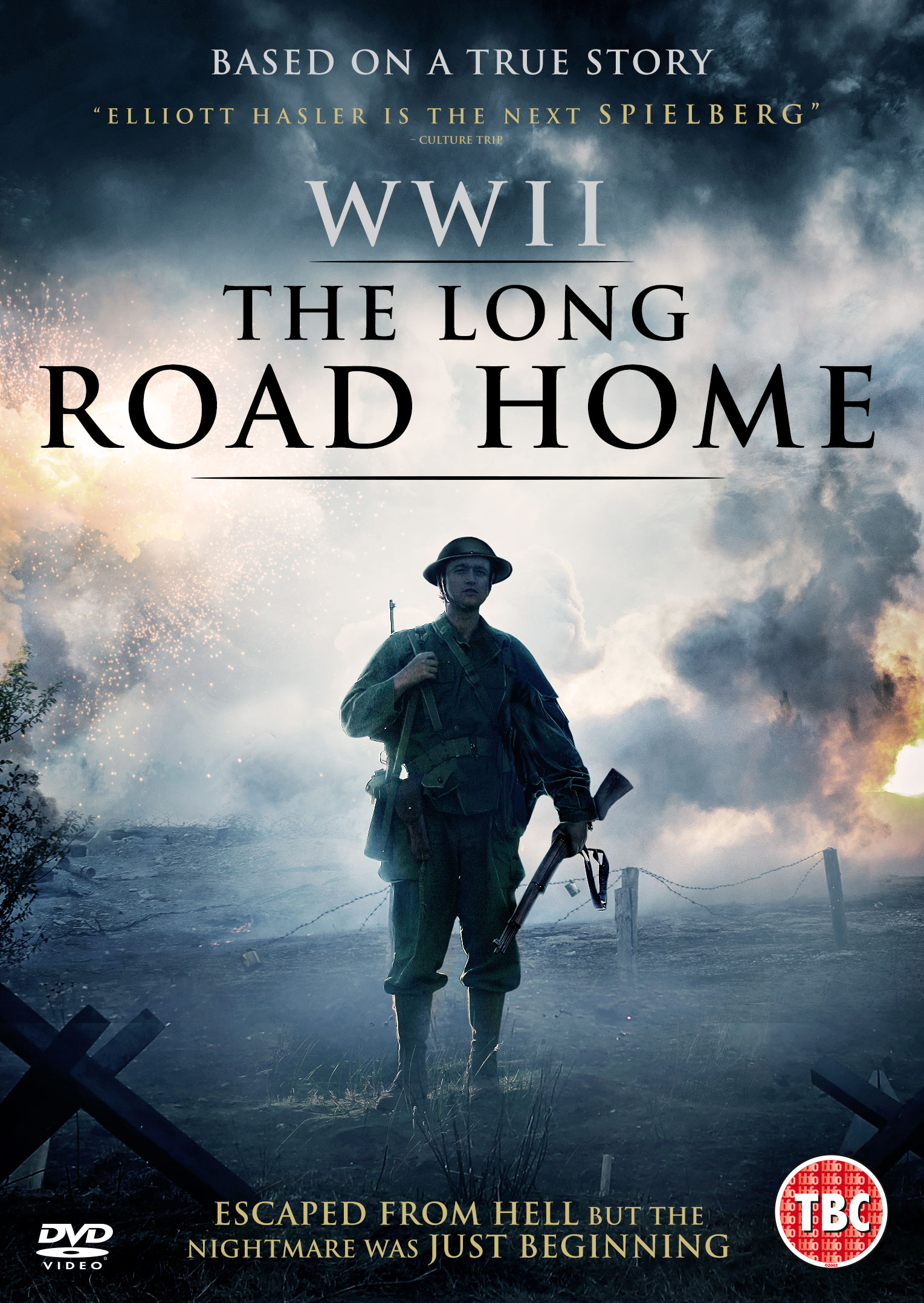 the long road home film poster by Elliott Hasler
