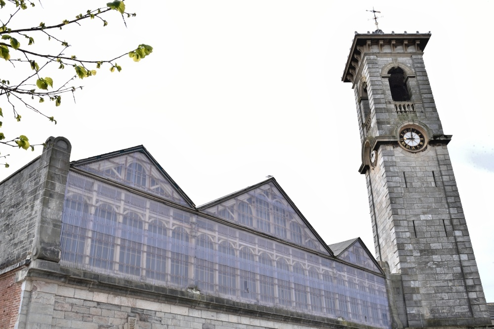 Devonport Market Hall roof and tower