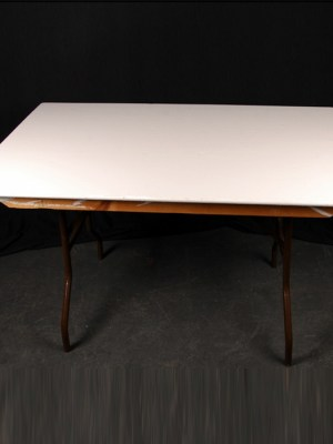 Trestle Table 4′ x 2′ 6″ ( Seats 4 )