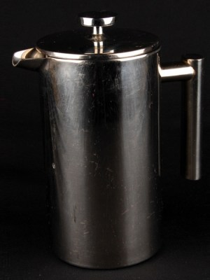 CONTEMPORARY S/S CAFETIERE - 6/8 cup
