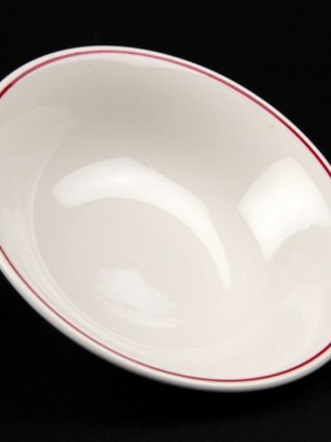 "DESSERT / SOUP BOWL 6"" Budget Crockery Hire"