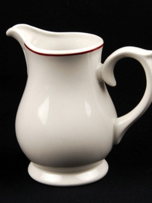 MILK JUG 10oz Budget Crockery Hire