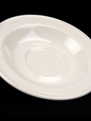 SAUCER White Crockery Hire