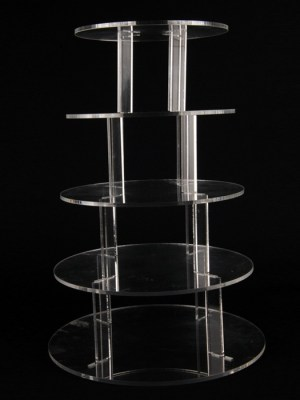 Cupcake stand hire 5 tier acrylic