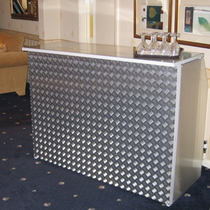 BAR BASE UNIT - CHECKER PLATE