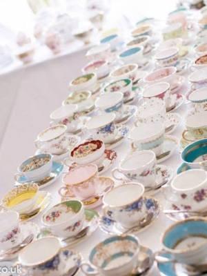 Vintage China Tea Saucer