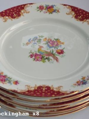 Vintage China Dinner Plate