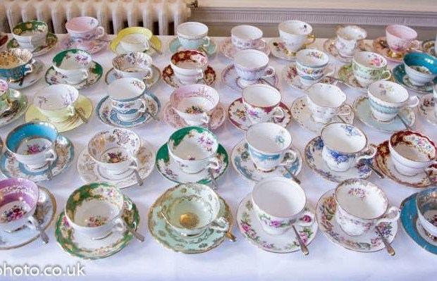 Somerset and Dorset vintage china hire