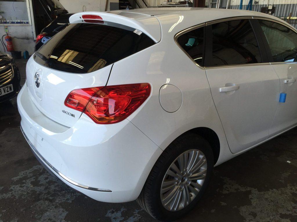 Vauxhall Astra Window Tint