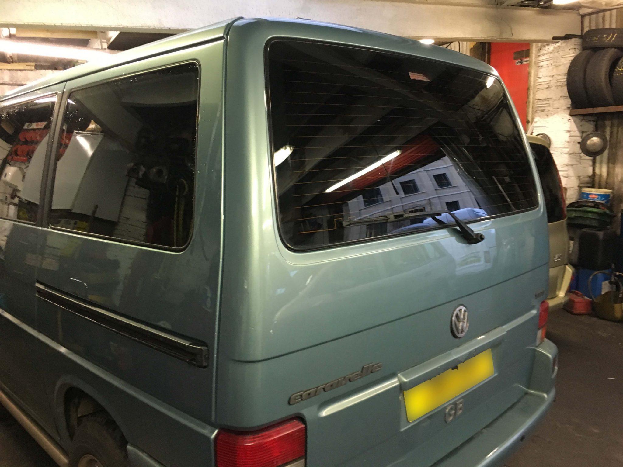 VW Caravelle Window Tint