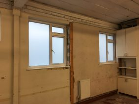 White Matte Window Film