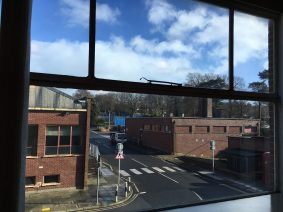 Solar Gard Silver 50 Window Tint Internal View
