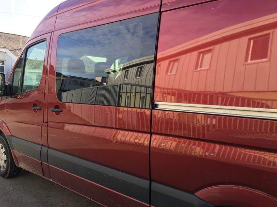 Mercedes Sprinter Window Tint