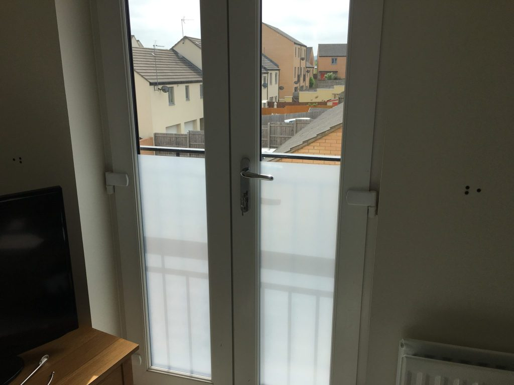 Frost Effect Privacy Film