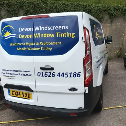 Devon Window Tinting Van Logo