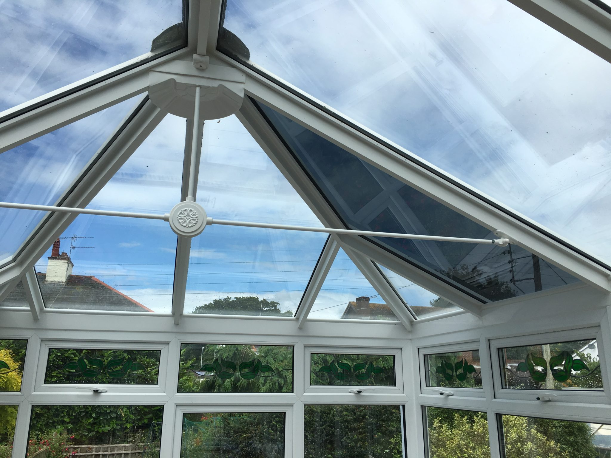 Conservatory Glare Reduction Solar Heat Gain Coefficient 0.28