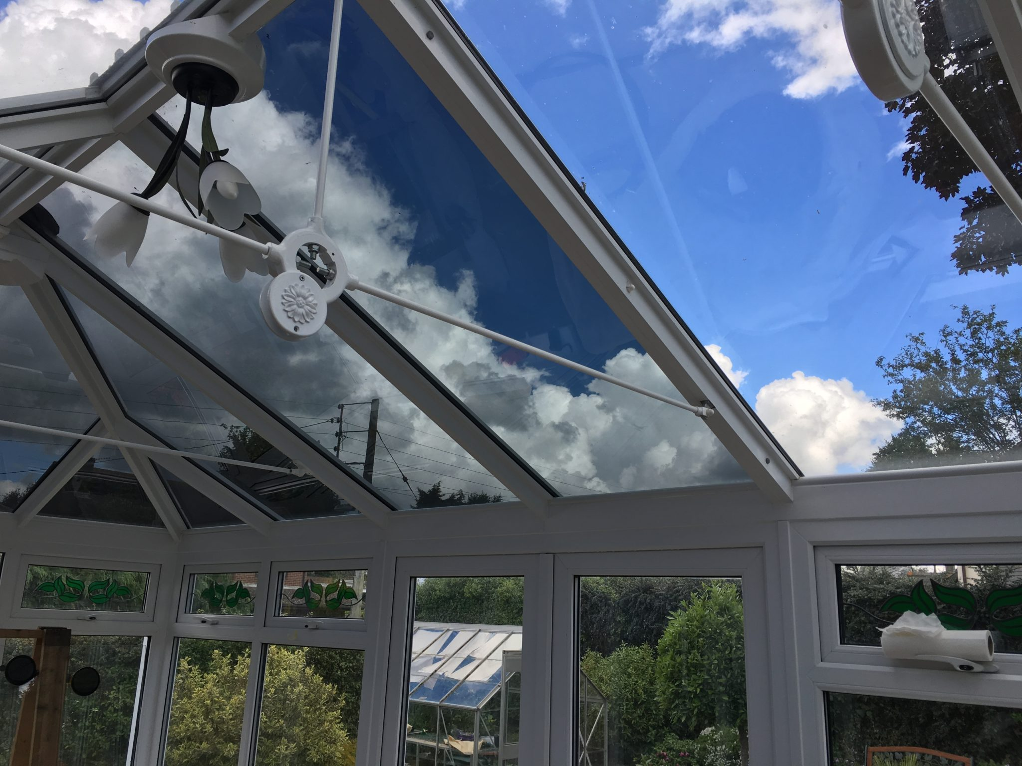 Conservatory Glare Reduction Solar Absorption 45%