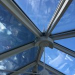 Conservatory Glare Reduction Visible Light Transmission 14%