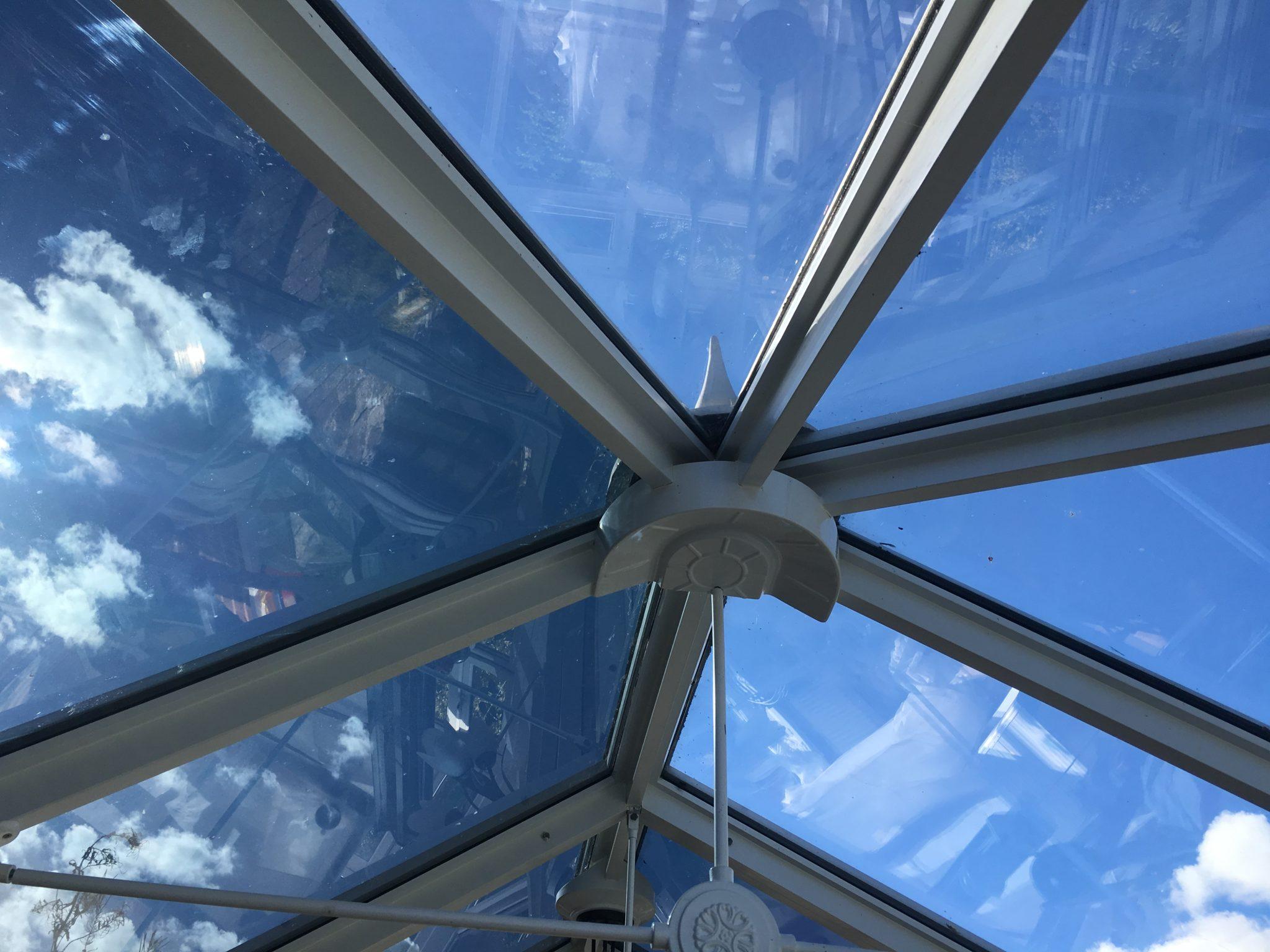 Conservatory Glare Reduction Visible Light Transmission 14%