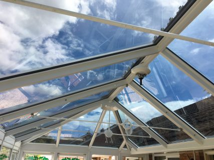 Conservatory Glare Reduction 11% Interior Reflectance