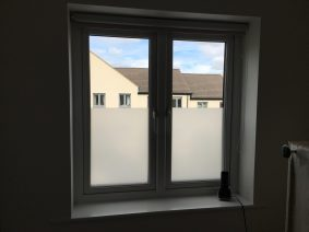 Residential Frosted Privacy Window Film