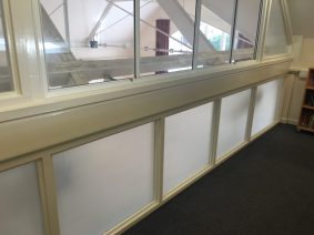School Safety Window Film Matte Frost