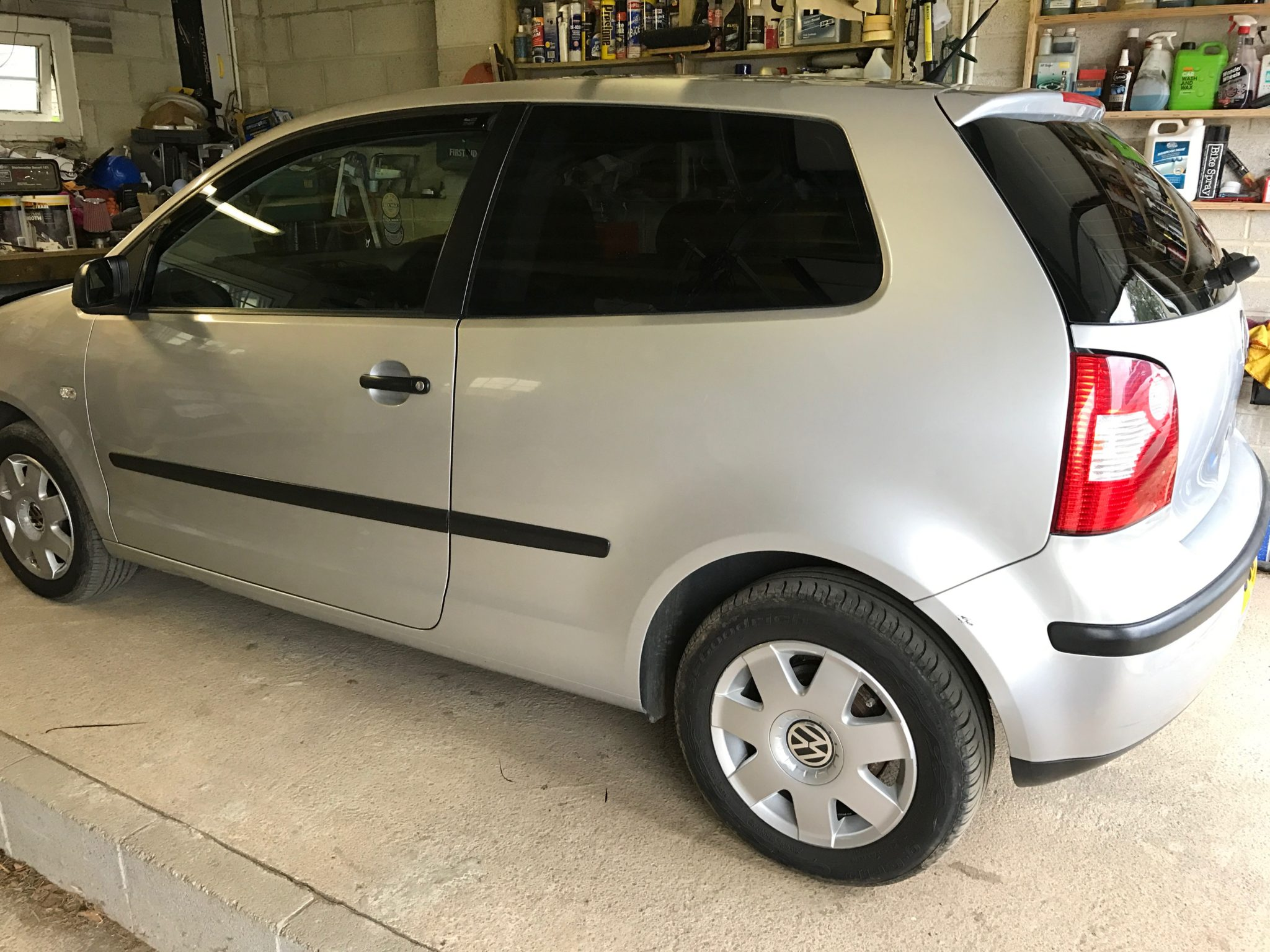 VW Polo Tint Llumar Global QDP