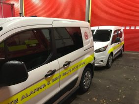 Ford Transit Connect Window Tinting a